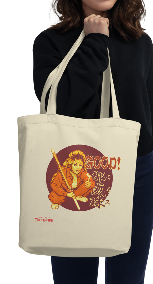"YANKII STYLE ""Good!"" Eco Tote Bag by Haruki Ara"