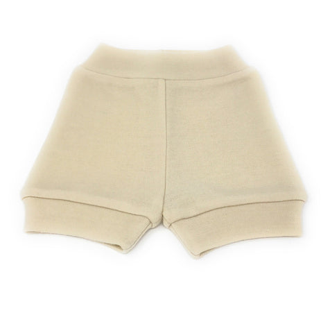 Natural Wool Shorties Irregulars