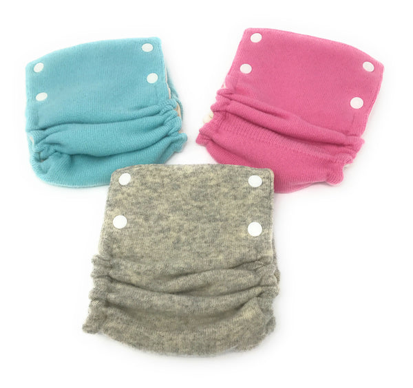 Wool Diaper Covers (Solid Colors) Irregulars one cover