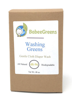 Washing Greens Detergent