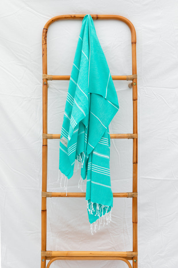 Jenna Towel - Teal