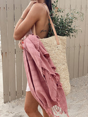 Zoe Towel - Rose