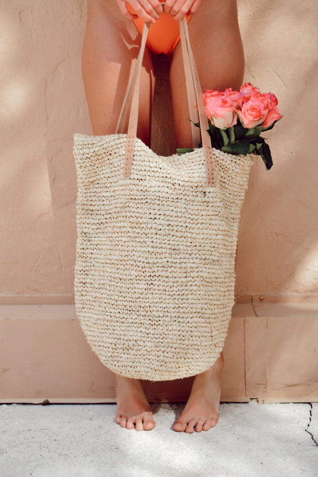 The Gracie Tote - Natural