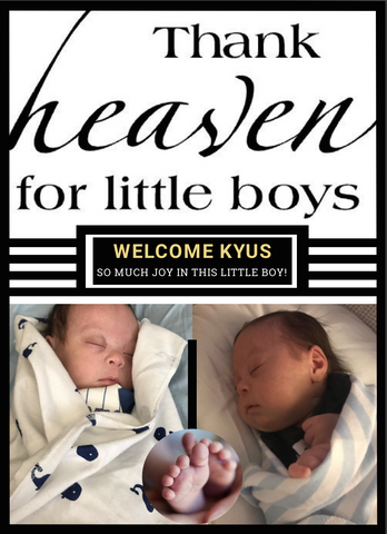 Welcome Little Prince Kyus