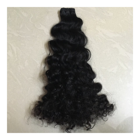 Raw Indian Curly Bundle