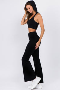 Last One! Edie Bell Bottom Yoga Pants, Free Shipping!