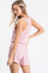 Pier Extracurricular Blush Romper, Free Shipping!