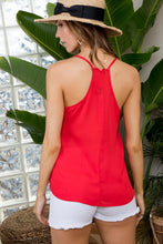 Load image into Gallery viewer, Adrift Color Block Cami Tank Top