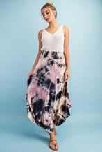 Load image into Gallery viewer, Across the Waters Mauve Tie Dye Maxi Skirt, Free Shipping!