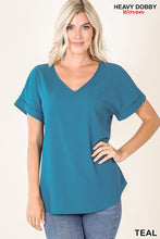 Load image into Gallery viewer, Steal Deal! Elisa Cuffed Tunic Top, Free Shipping!