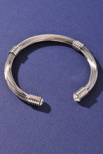 Load image into Gallery viewer, David Yurman Dupe - Be Fabulous Clear Cuff Bracelet