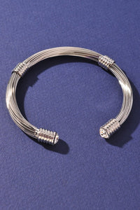 David Yurman Dupe - Be Fabulous Clear Cuff Bracelet