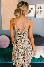 Load image into Gallery viewer, Leading The Way Leopard Print Dress Tan, Free Shipping!