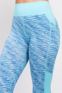 Space Dye Active Leggings, Free Shipping!