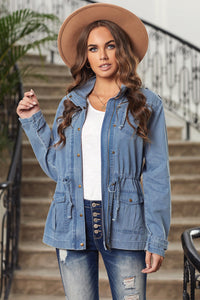 All Smiles Chambray Vibes Jacket, Free Shipping!