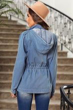 Load image into Gallery viewer, All Smiles Chambray Vibes Jacket, Free Shipping!