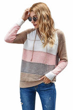 Load image into Gallery viewer, Almond Beach Bonfire Knitted Hoodie, Free Shipping!