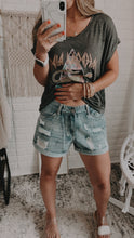 Load image into Gallery viewer, Retro Chic Distressed Shorts, Free Shipping!