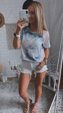 Load image into Gallery viewer, Chakra California Jaze Swirl Dye Tee, Free Shipping!