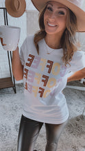 Load image into Gallery viewer, Coffee, Coffee, Coffee White Graphic Tee, Free Shipping!