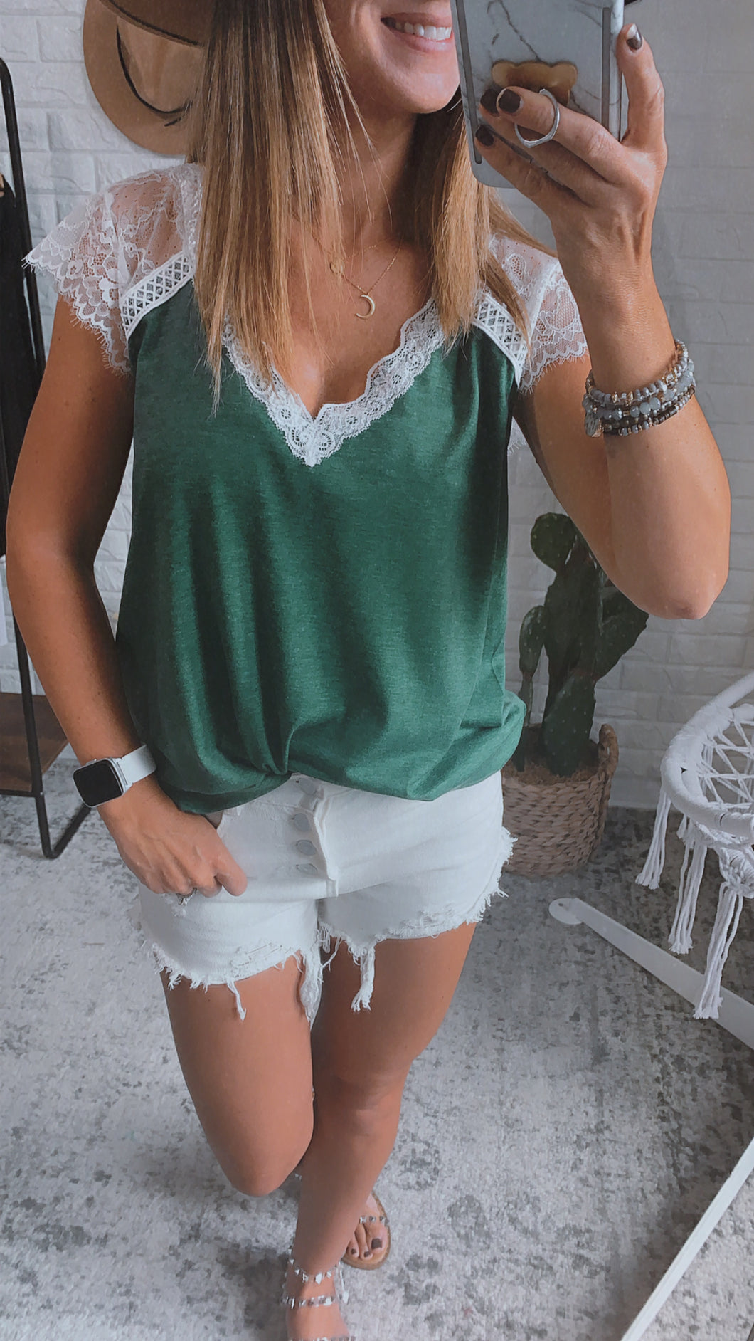 Marie Forest Lace Top, Free Shipping!