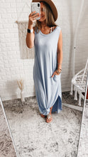 Load image into Gallery viewer, Across the Waters Sleeveless Maxi Dress