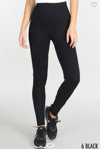 NikiBiki Good Vibes Black Leggings, Free Shipping!