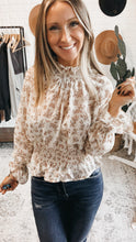 Load image into Gallery viewer, Stay Lovely Ivory Embroidered Long Sleeve Top, Free Shipping!