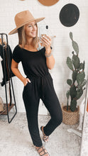 Load image into Gallery viewer, Black Asymmetrical Jumpsuit! Free Shipping!