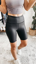 Load image into Gallery viewer, Mono B Highwaist Foil Scale Print Biker Shorts, Free Shipping!