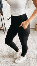 Load image into Gallery viewer, Mono B Cargo Highwaist Athleta Dupe Leggings, Free Shipping!