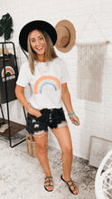 Load image into Gallery viewer, Naomi Vintage Over The Rainbow Tee, Free Shipping!