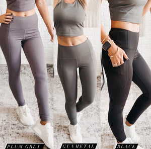 Mono B Go An Extra Mile Leggings 3 Colors, Free Shipping!