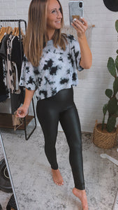Natalia Highwaist Foil Scale Print Full Leggings, Free Shipping!