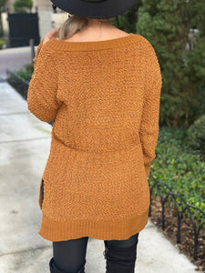 Lighting Deal -  Whitney Popcorn Cable Knit Sweater, Free Shipping!