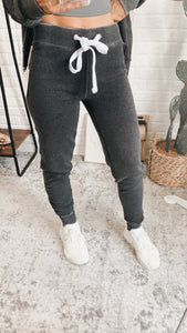 Here For You Heather Charcoal Joggers, free Shipping!