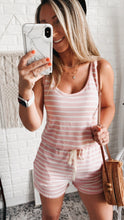 Load image into Gallery viewer, Pier Extracurricular Blush Romper, Free Shipping!