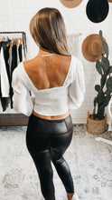 Load image into Gallery viewer, Elm Fox Long Sleeve Ruched Top Black or White, Free Shipping!