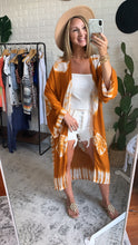 Load image into Gallery viewer, Sea the Sun Light Tie Dye Kimono, Free Shipping!