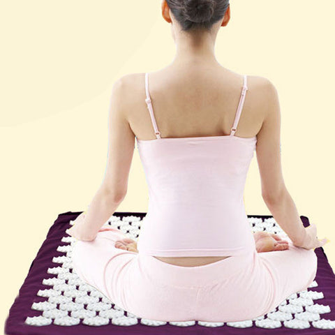 Acupressure Mat - Health Care Massage Yoga and Meditation Mat. Relieve Pain, Stress and Fatigue