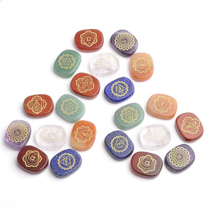 7 Chakra Gemstones - Holistic Health Care, Crystal Reiki Healer and Balancing