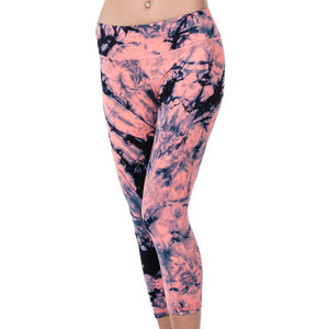 Contour Yoga Capris - 4 Way Stretch, Non see-through, Tummy Control Workout Pants