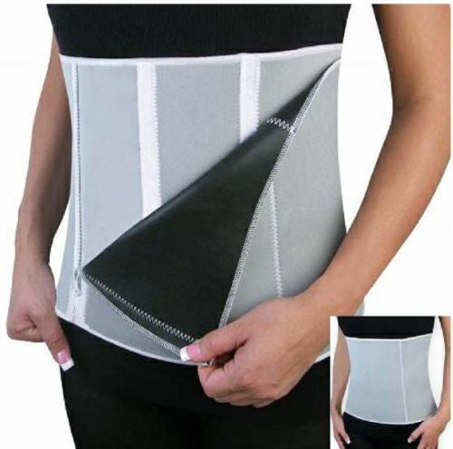 Slimming Waist Wrap -  Adjustable Sauna Slimming Belt, Tone Body, Burn Belly Fat and Cellulite