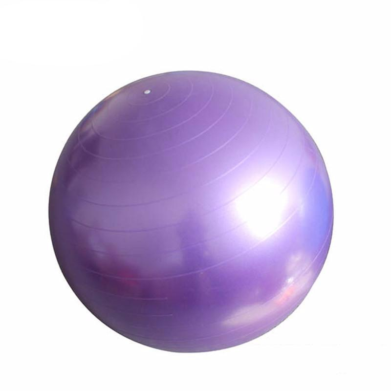 Yoga Pilates Ball - Fitness Gym Ball, Smooth Balance, Exercise with Pump Balance Trainer Pilates Sport