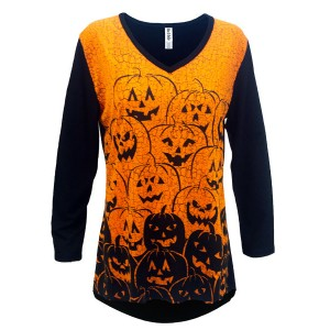 Jack O Lantern Tunic - Crazy Peacock Boutique