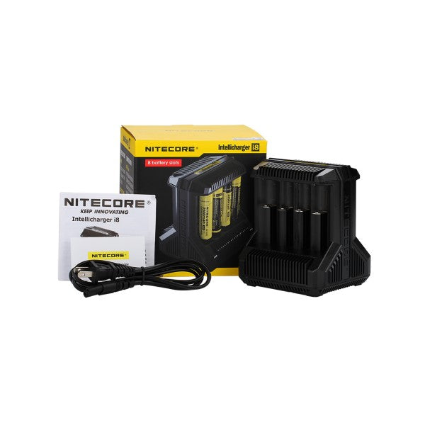 Nitecore i8 Intellicharger-ManchesterVapeMan