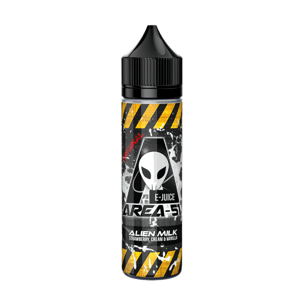 Alien Milk by Area 51 - ManchesterVapeMan