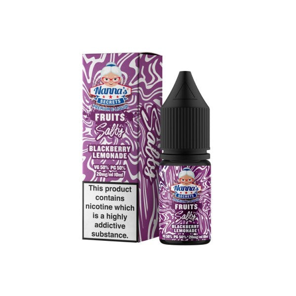 Blackberry Lemonade by Nana's Secret Nic Salts