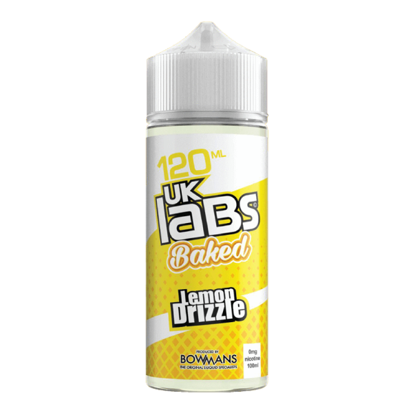 Lemon Drizzle Baked by UK Labs-ManchesterVapeMan