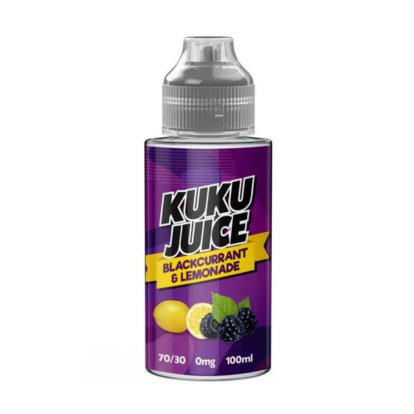 Blackcurrant & Lemonade by Kuku Juice